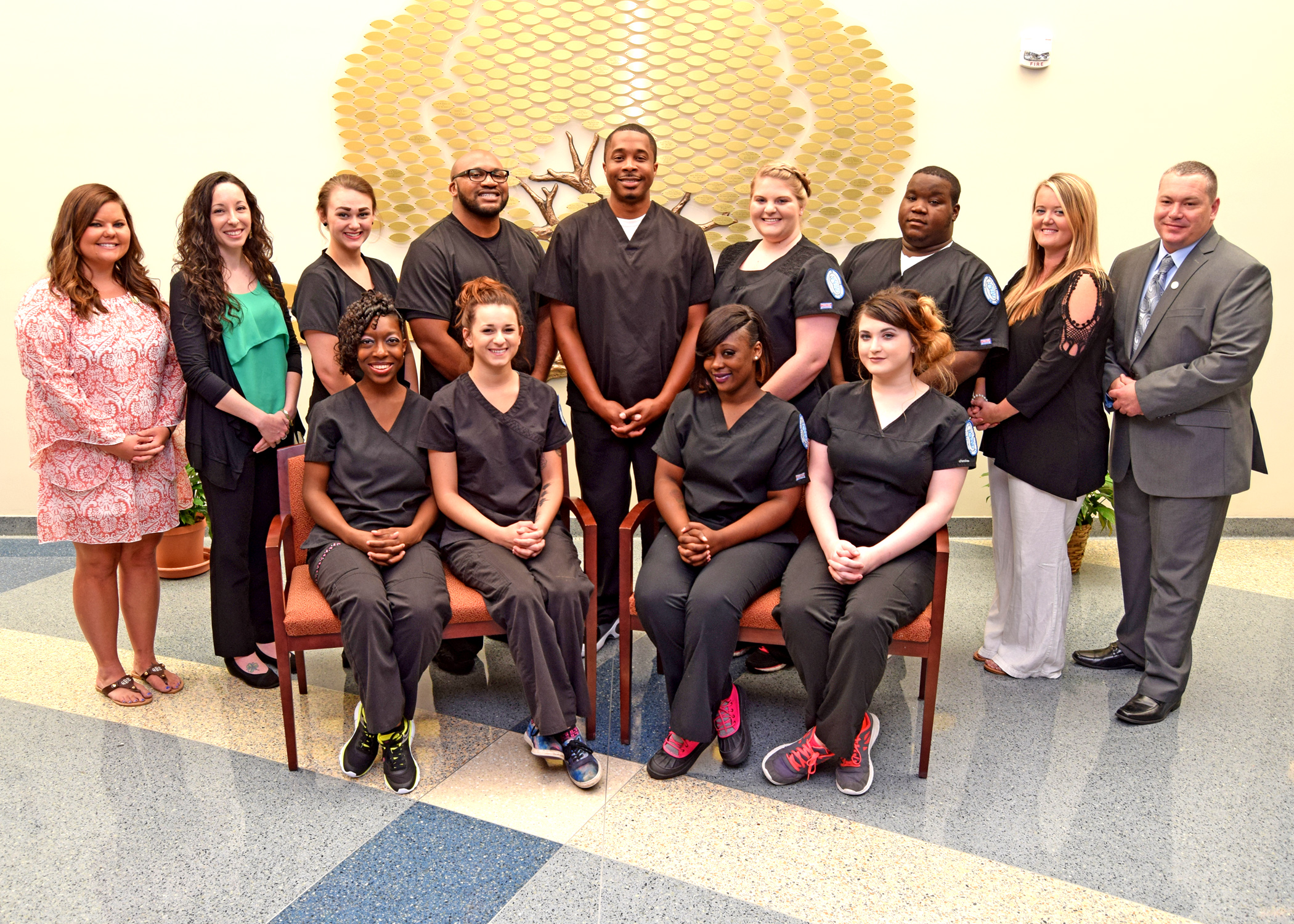Associate Degree of Nursing Group Shot|CCTC's Diploma in Applied Science with a major in Medical Assisting