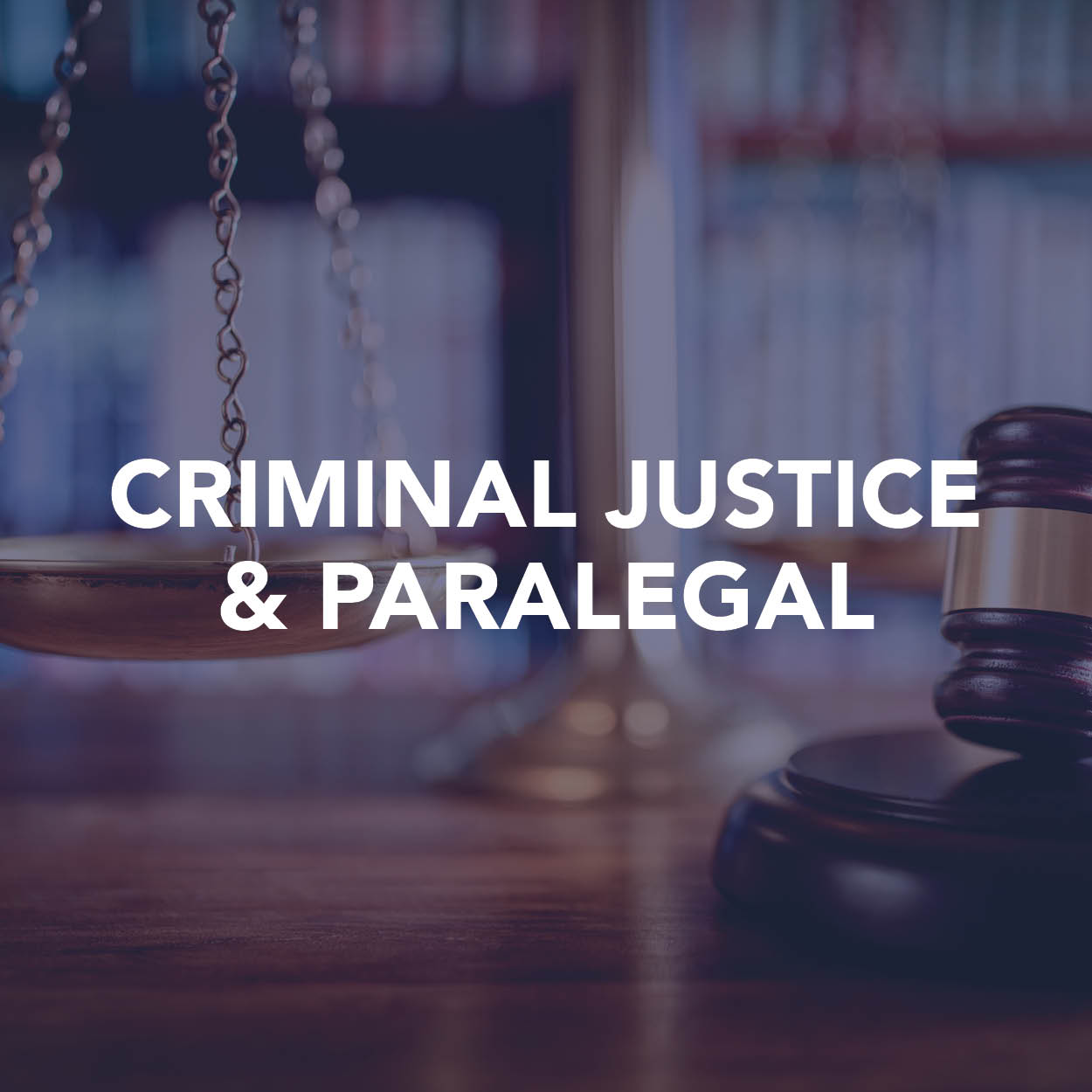 criminal justice and paralegal