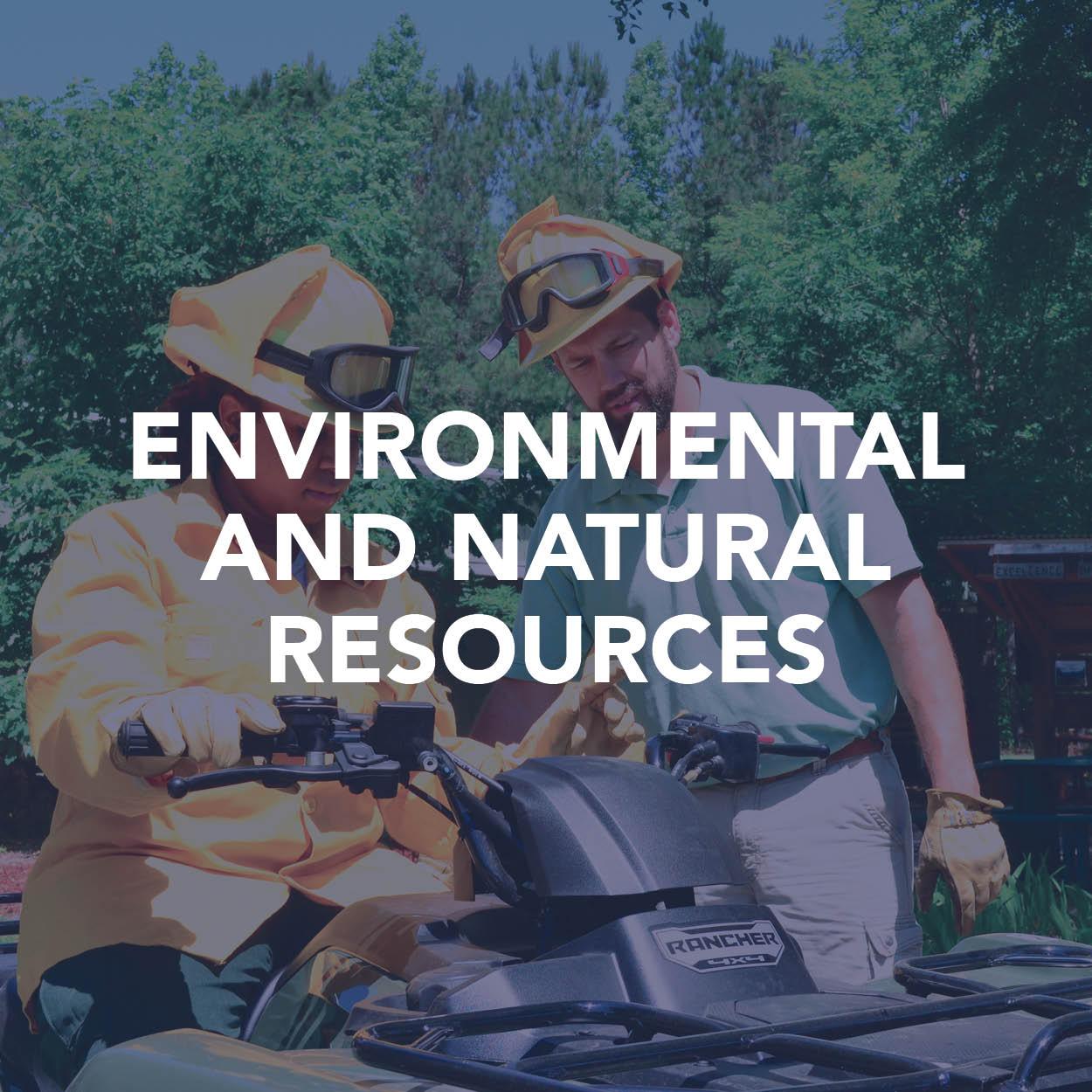 Environmental and Natural Resources