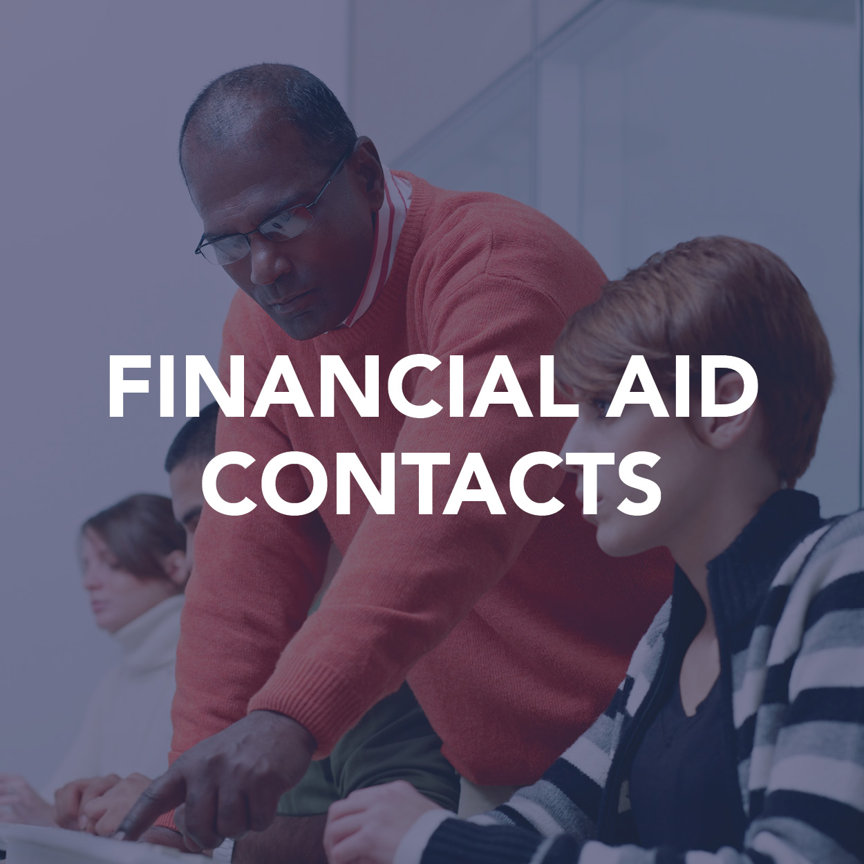 Financial Aid contacts