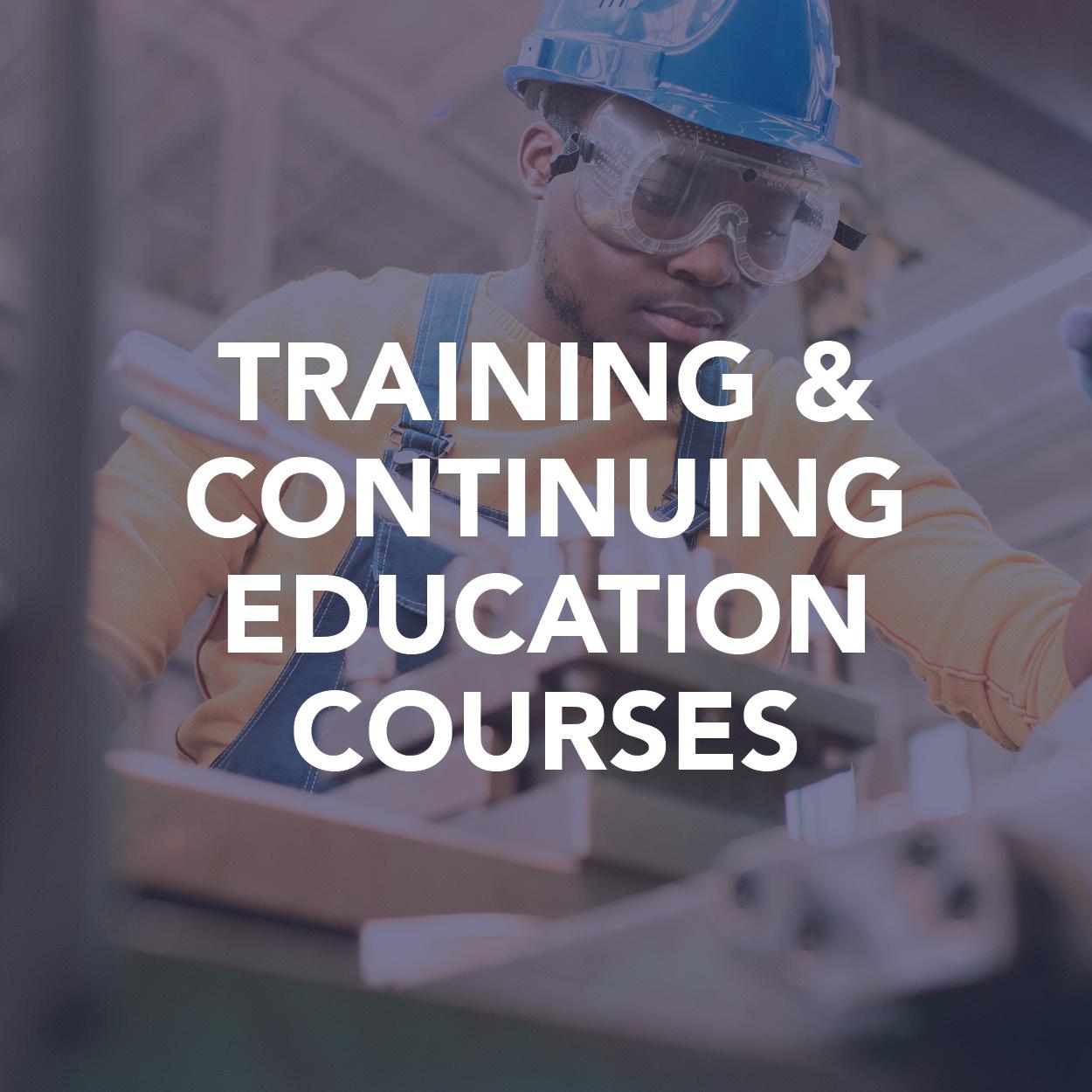 Training & Continuing Ed Courses
