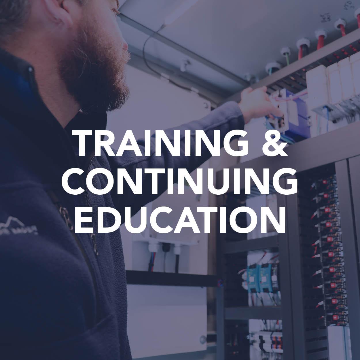 Training & Continuing Ed