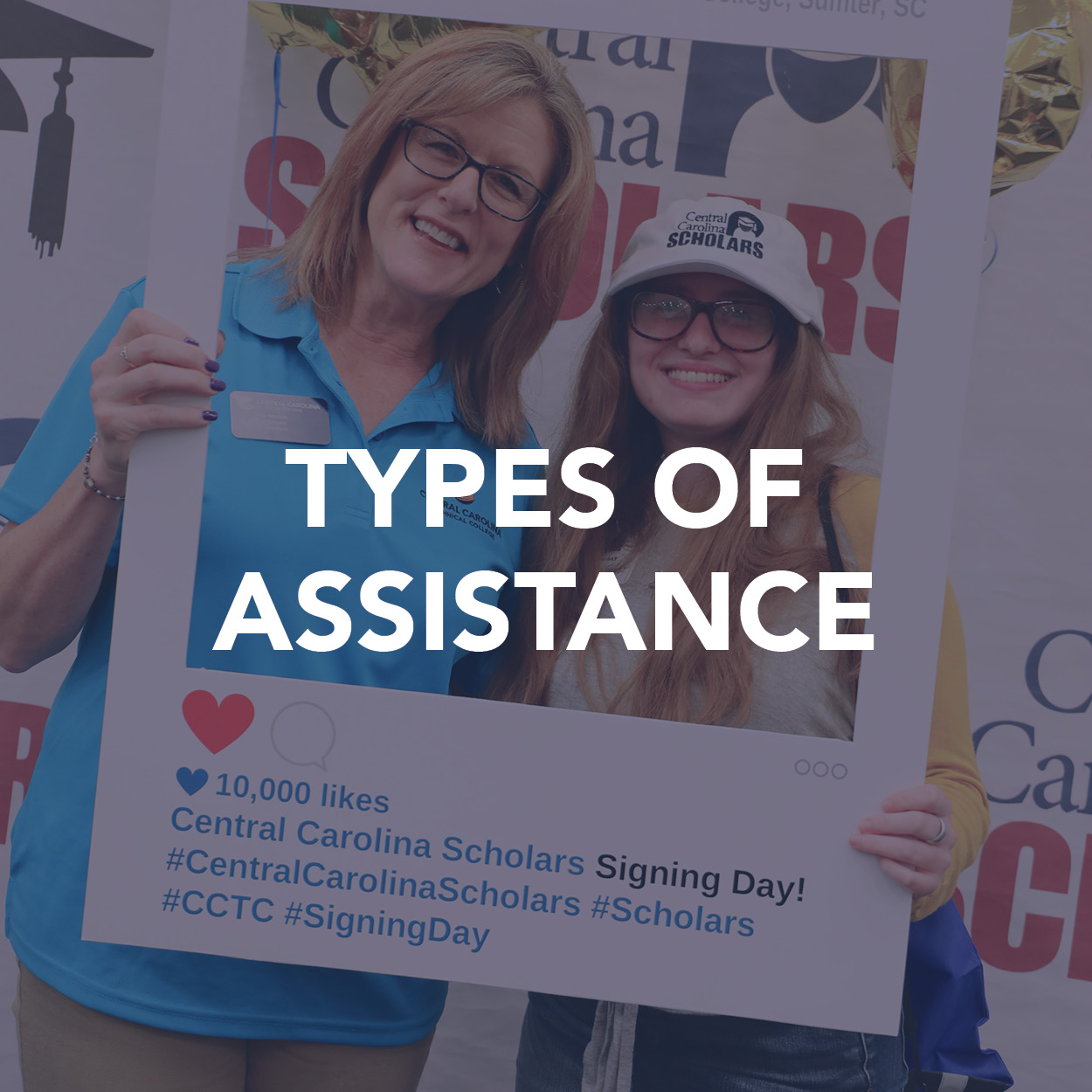 Types of Assistance