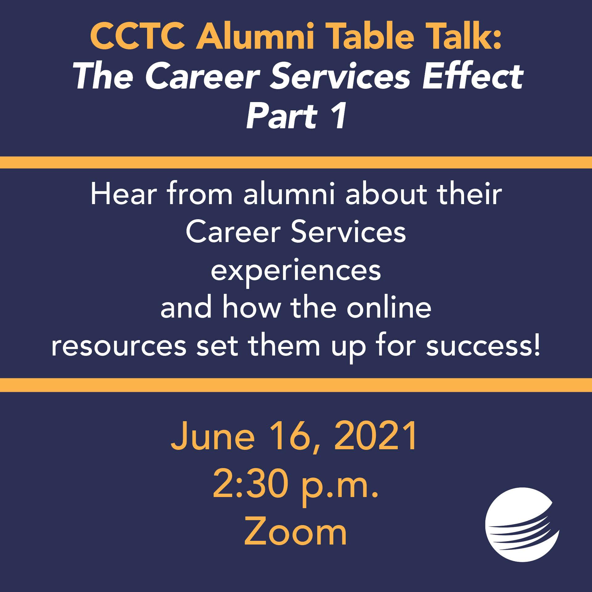 Alumni Table Talk