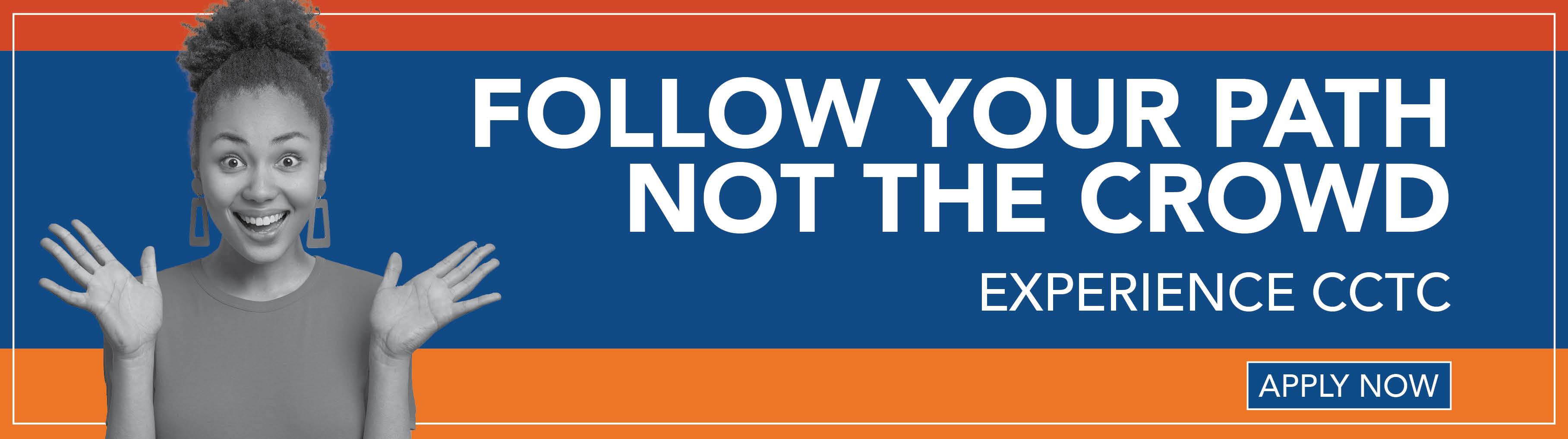 Follow Your Path - Fall Enrollment Rotator
