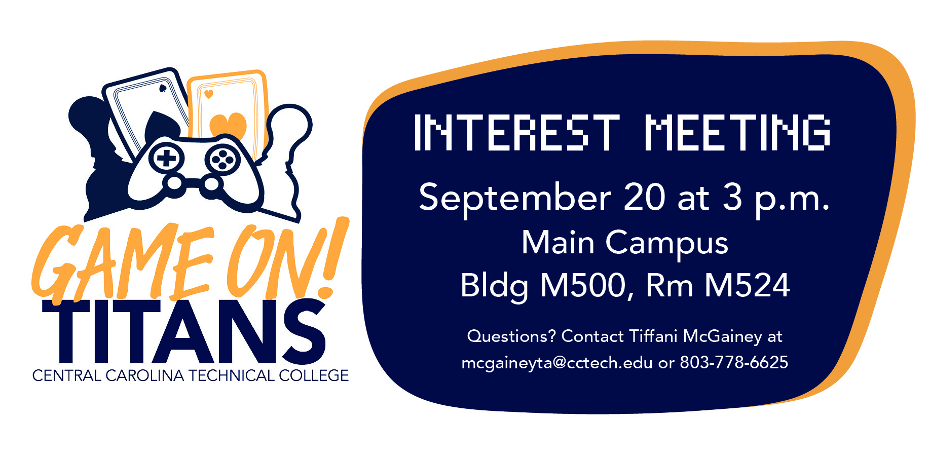 Game On Titans Interest Meeting