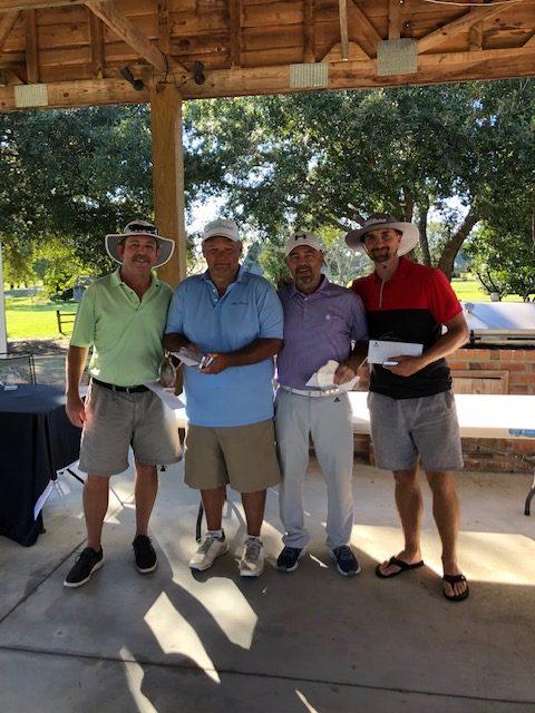 Golf Winning Team 2020