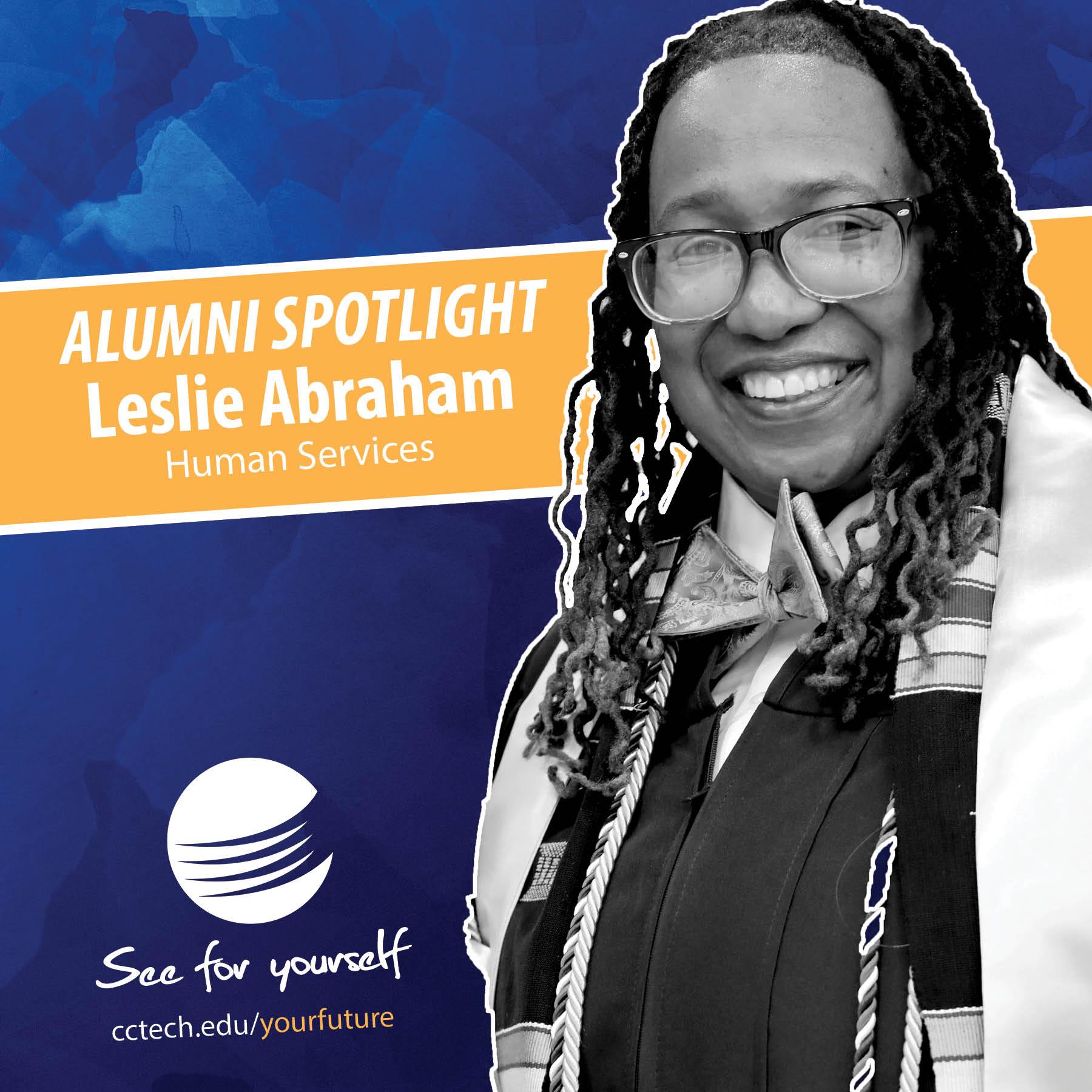Leslie Abraham - alumna