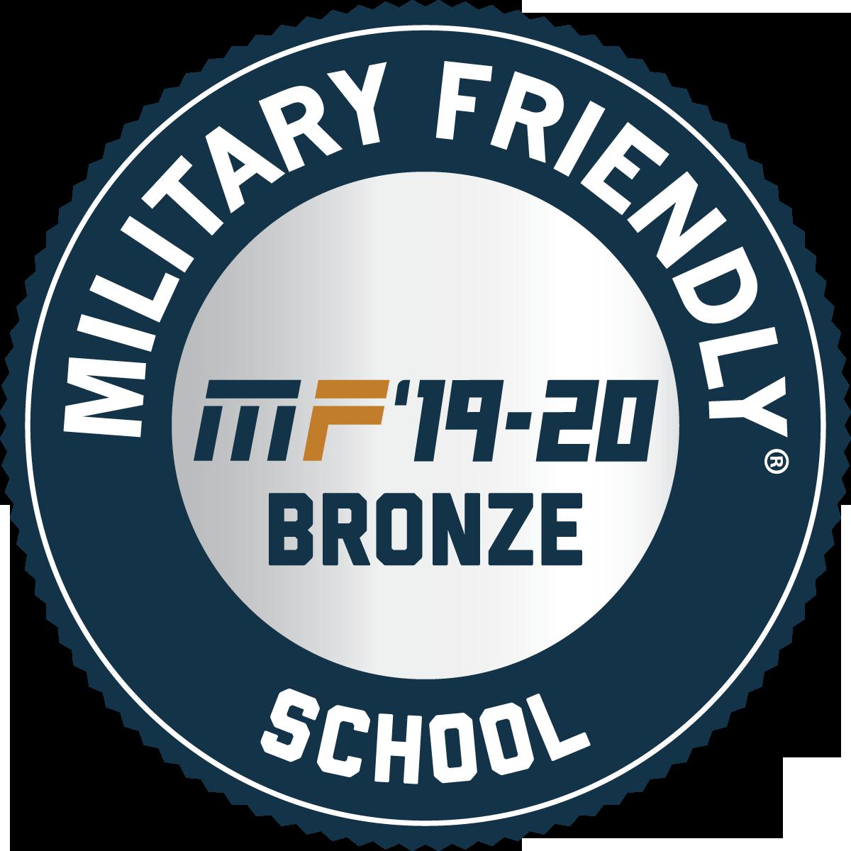 Military Friendly 19-20 logo