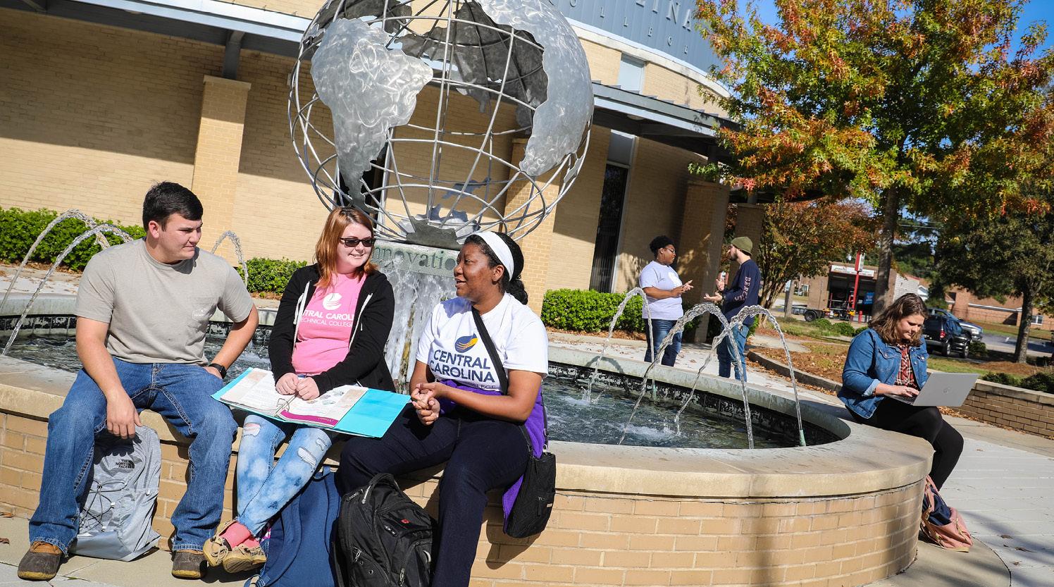 students at globe