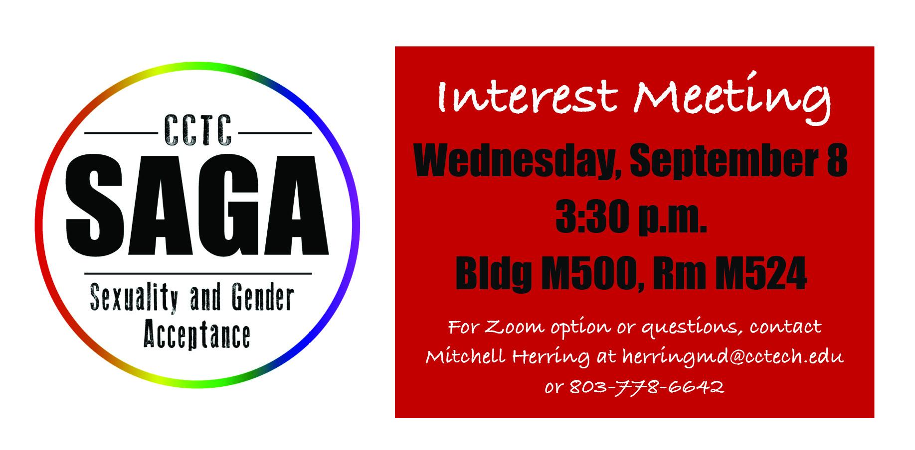 SAGA Interest Meeting