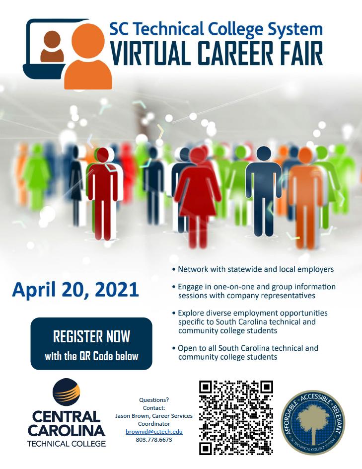 SC Technical College Virtual Career Fair