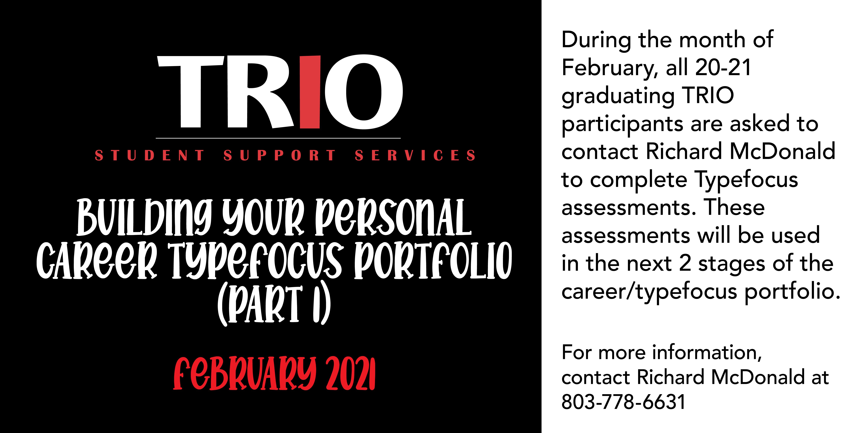 TRIO Career Typefocus Portfolio