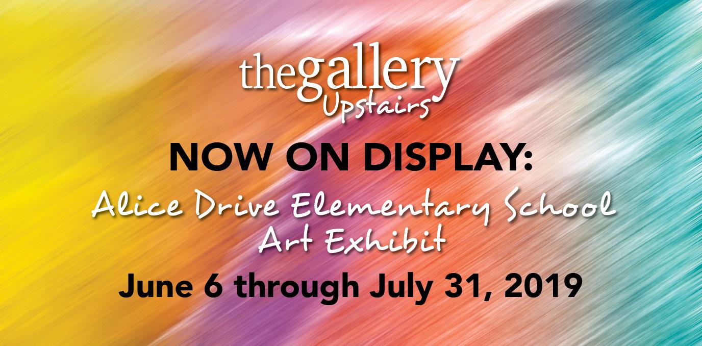 Alice Drive Elementary Art Exhibit