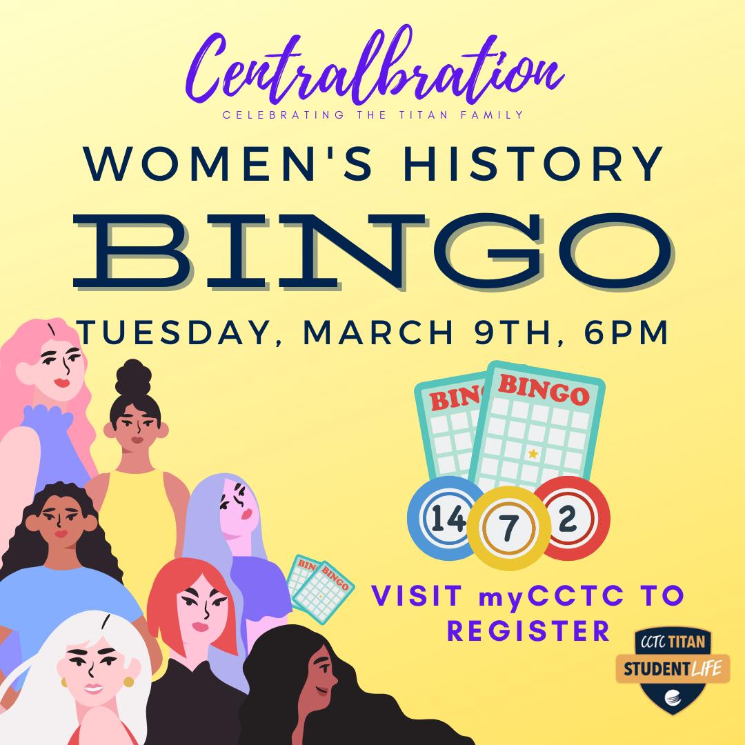 Women's History Bingo