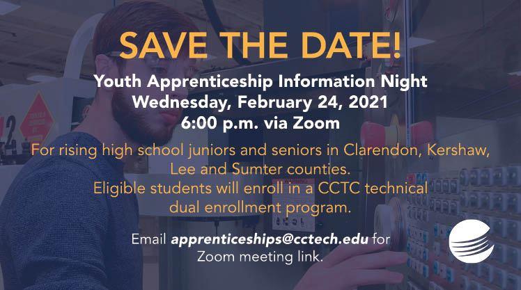 Youth Apprenticeship Information Night graphic